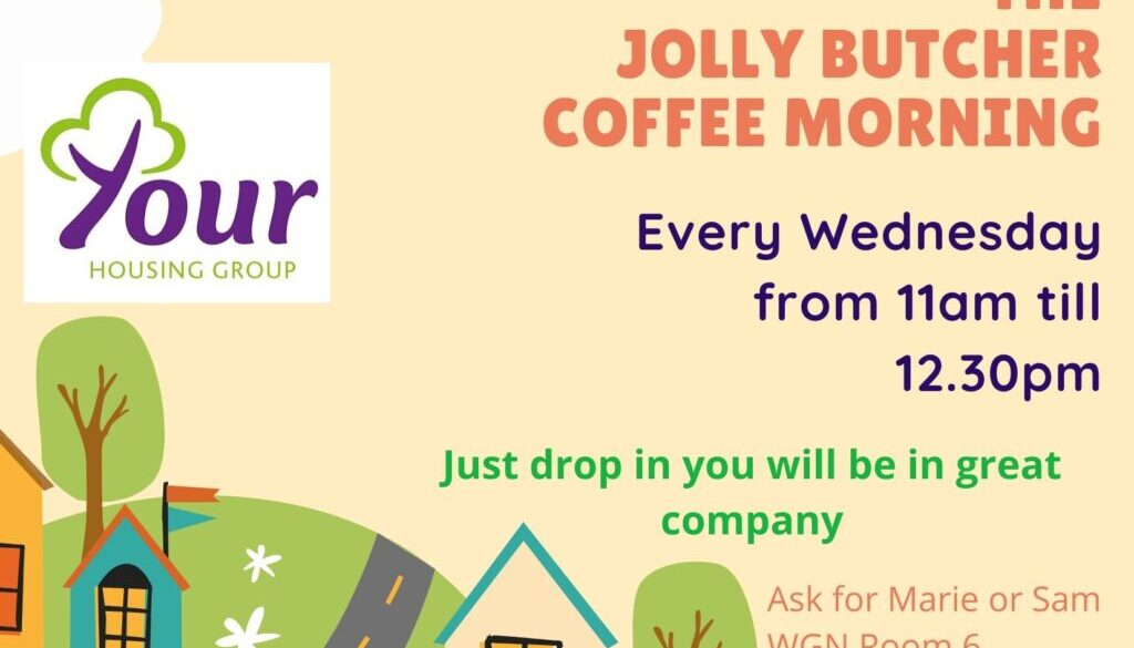 The JOLLY BUTCHER COFFEE MORNING